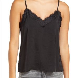 Nordstrom BP lace trimmed cami